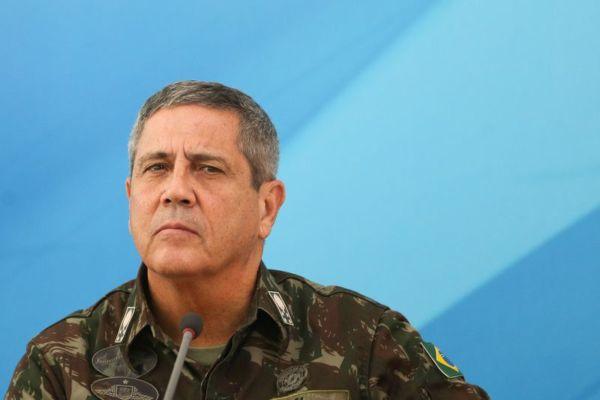 O Comandante Militar do Leste, General Braga Netto, pede apoio da sociedade  (Marcelo Camargo/Agência Brasil)