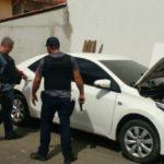 Policiais civis fazem operação para desarticular quadrilha especializada em clonar carros 9foto: Cedida pela Polícia Civil)