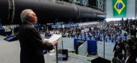 Temer participa de início da fase de integração de submarinos à Marinha