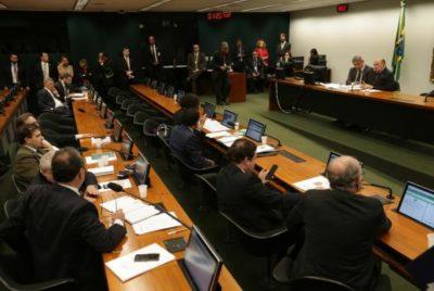 Reunião de instalação da comissão especial criada para dar parecer ao Projeto de Lei 9.463/2018 (crédito AB)
