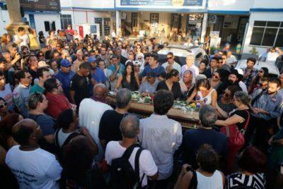 Enterro do corpo da vereadora Marielle Franco (crédito AB)