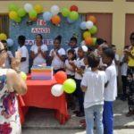 Presença: Evento contou com as presenças dos alunos e da vice-prefeita, Fátima Lima, entre outras autoridades (Foto: Paulo Dimas)
