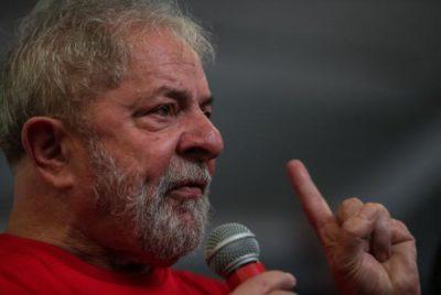Recurso da defesa de Lula contra decisão em segunda instância, que aumentou a pena no caso do triplex em Guarujá, em São Paulo, será julgado hoje pelo TRF-4 (crédito AB)