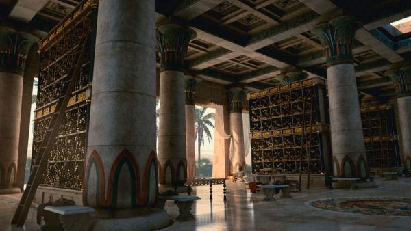 Queimada: A Biblioteca de Alexandria na série Cosmos
