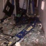 Bandidos explodem caixa eletrônica da CEF e fogem (crédito divulgação)