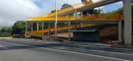 Nova passarela é entregue em Piraí