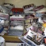 Solidariedade: Corrente do bem arrecadou mais de 250 kg de alimentos, além de roupas, produtos de limpeza, de higiene pessoal e material escolar - Divulgação