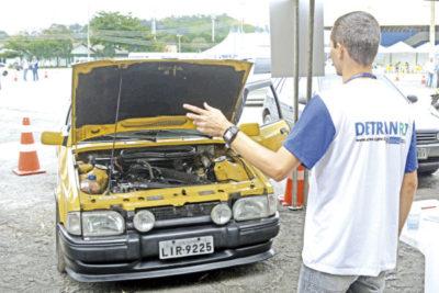 Licenciamento anual de veículos foi um dos mais procurados no Detran Presente (crédito Divulgação)
