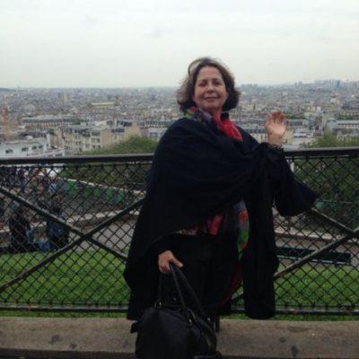 Aline Leal (aniversariante do dia), recordações de suas andanças pelo mundo