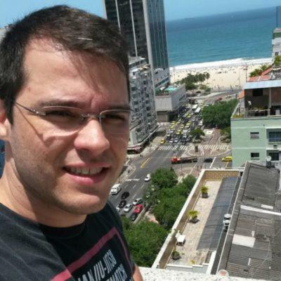 O fisioterapeuta Marcus Sobreira (aniversariante do dia)