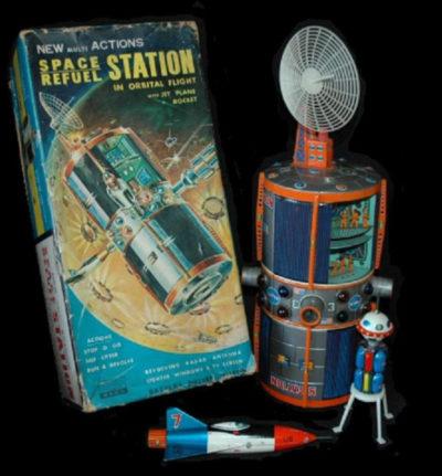 Skylab: Inspirou a estação de reabastecimento