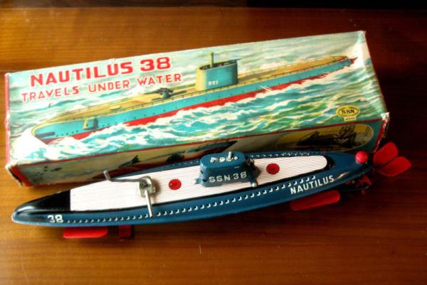 Nautillus: A versão de brinquedo, feita no Japão