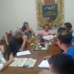 Emergência: Prefeito Eduardo Guedes juntamente com o Gabinete de Gestão de Crise- Divulgação PMI
