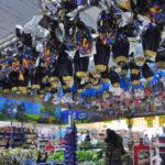 Pré-Páscoa: Ovos de chocolate já são vistos em supermercados de Volta Redonda  (Foto: Paulo Dimas)