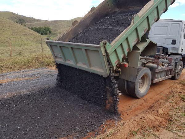 Continua: Prefeitura intensifica serviços de conservação das estradas rurais - Divulgação