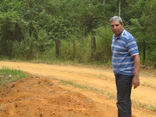 De perto: Prefeito Bruno de Souza visita Falcão, o distrito rural de Quatis  (Foto: Divulgação)