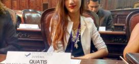 Estudante de Quatis fica em 3º lugar no Parlamento Juvenil