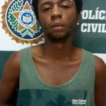 Suspeito é preso ao tentar roubar moto (crédito PC)