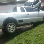 Motorista bate de carro e acaba recebendo multa por CNH vencida (crédito PRF)