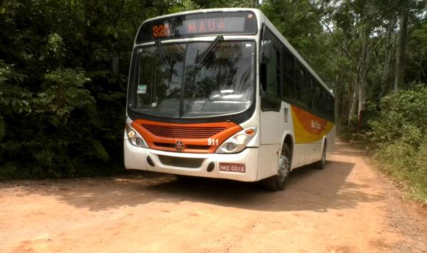 Voltou: Ônibus voltaram a circular nesta terça-feira, utilizando a Serra do M, mas horários ainda estão reduzidos - Divulgação