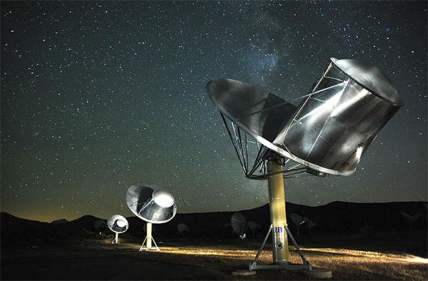Busca: Antenas continuam a ouvir o universo