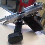 Armas apreendidas no final de semana serão levadas para perícia (crédito PM)