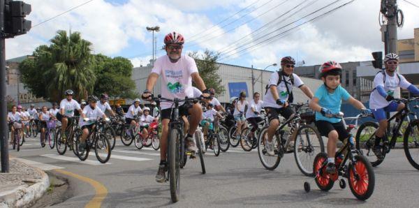 Água: Evento contou com ciclistas de 14 cidades da região neste sábado (24) e domingo (25) - Divulgação