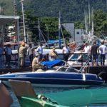 Bombeiros socorrem vítimas de acidente na Ilha Grande, em Angra dos Reis