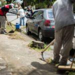 Mutirão: Equipes trabalharam durante o sábado e domingo realizando os serviços de capina e roçada -  Gabriel Borges – Secom/VR