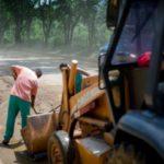 Temporal: Equipe da SMI fez a limpeza e retirada de lama das ruas (Foto: Gabriel Borges/SecomVR)