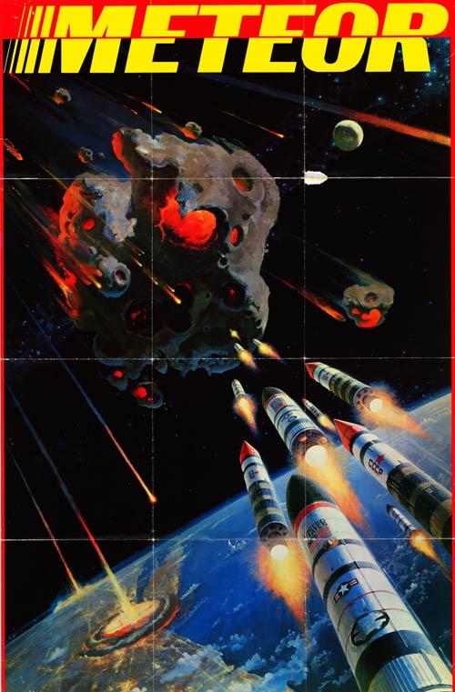 Meteoro: Filme de 1979 previu o projeto HAMMER