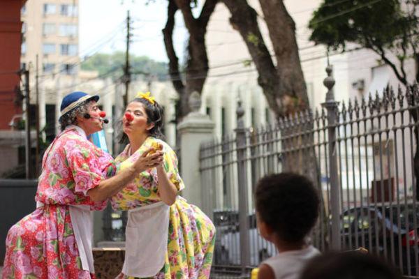 Arte do palhaço: Moradores receberão atividades gratuitas  (Foto: Divulgação)