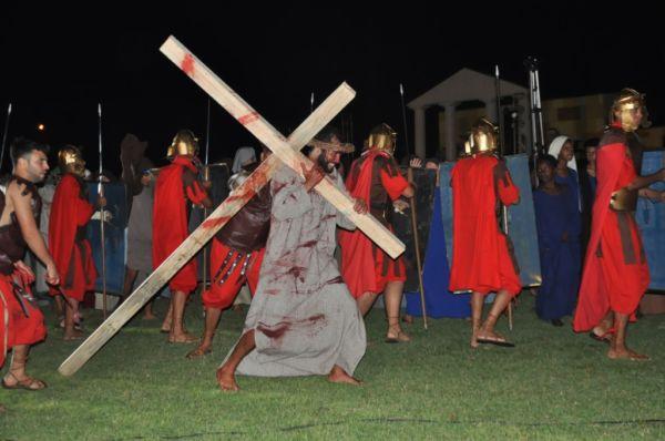 Paixão de Cristo em Itatiaia: evento contará com a participação de 150 atores da comunidade  (Foto: Divulgação)