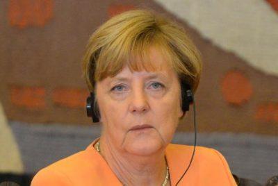 Merkel foi a primeira mulher a chegar à chefia de um dos dois grandes partidos alemães (crédito AB)