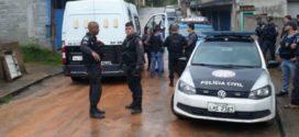 Operação das polícias Civil e Federal termina com cinco presos no Frade