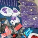 Polícia apreende drogas abandonadas em Barra Mansa (crédito PM)