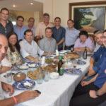 Na casa de Neto, Maia e prefeitos falam de política (foto: Ana Paula Silva)