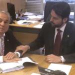 Em Brasília: Jordão consegue verbas com Ministro  das Cidades