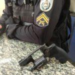 Crime: revólver calibre 38 e munições foram apreendidos com o suspeito (Foto: Cedida pela PM)
