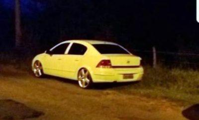Polícia encontra carro utilizado pelos criminosos em assassinato de Vandinho (crédito Divulgação)