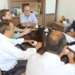 Conversa: Jordão e o presidente da Shell discutiram assuntos relativos à construção naval