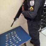 Polícia apreende drogas com suspeitos de tentativa de homicídio (crédito PM)