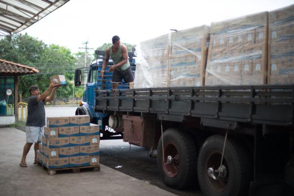 Até o final do ano serão entregues 420 mil litros de leite para alunos da rede municipal  (Gabriel Borges - Secom)