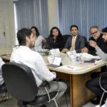 Encontro: Samuca e Joselito conversaram com representantes do Grupo Trigo