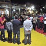 Na praça: Rodrigo Drable diz que parceria com os presidentes de associações e apoio da comunidade são fundamentais para Região Leste avançar (Fotos: Chico de Assis/PMBM)
