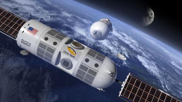 Projeto: O hotel espacial ficará em órbita baixa