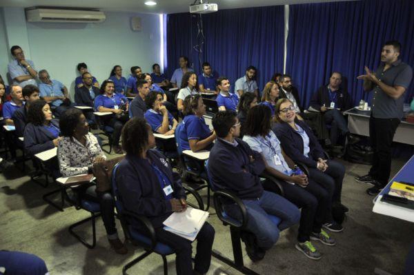 Conhecimento: Treinamento faz parte do projeto de tornar a autarquia acessível a todos os contribuintes. (Foto: Paulo Dimas)