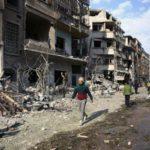 Pesados ataques e bombardeios têm sido lançados contra a região de Ghouta Oriental, na Síria (crédito AB)