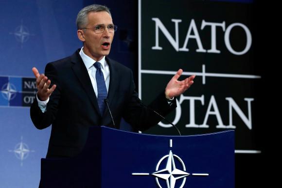 Secretário da Otan disse que o ataque a Síria é uma mensagem dirigida à Rússia e ao Irã. (crédito AB)