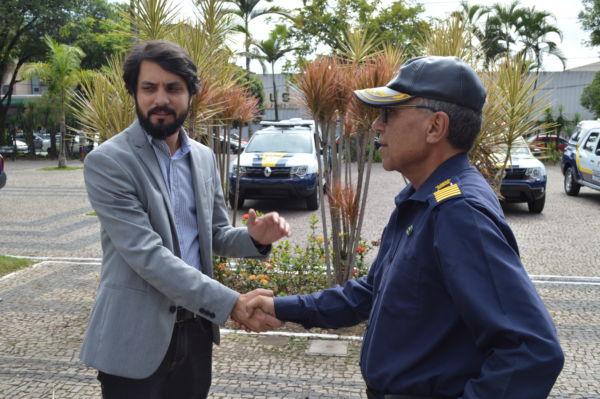 Prefeito Samuca Silva participou da entrega e destacou a importância da melhoria na estrutura da Guarda (foto: Evandro Freitas - SeEcom)